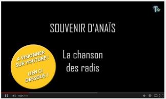 SOUVENIR D'ANAÏS - La chanson des radis