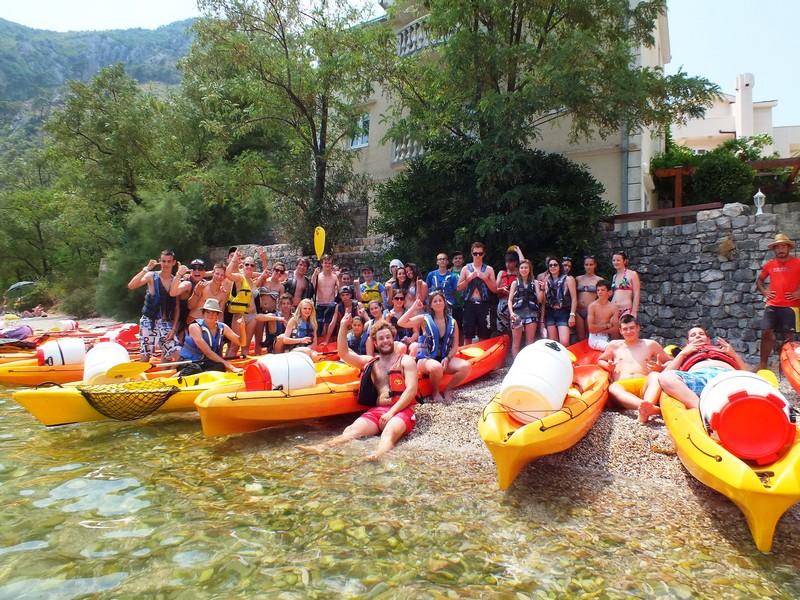 Kayak a Montenegro