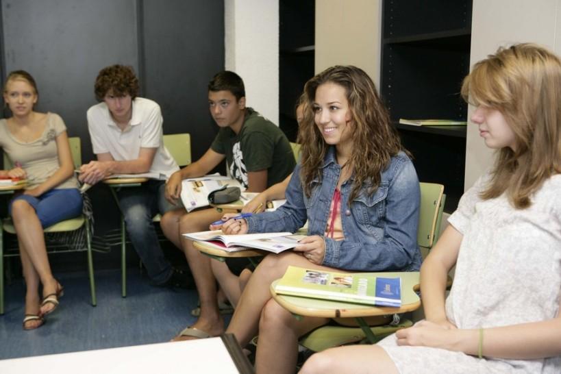 Madrid cours en classe