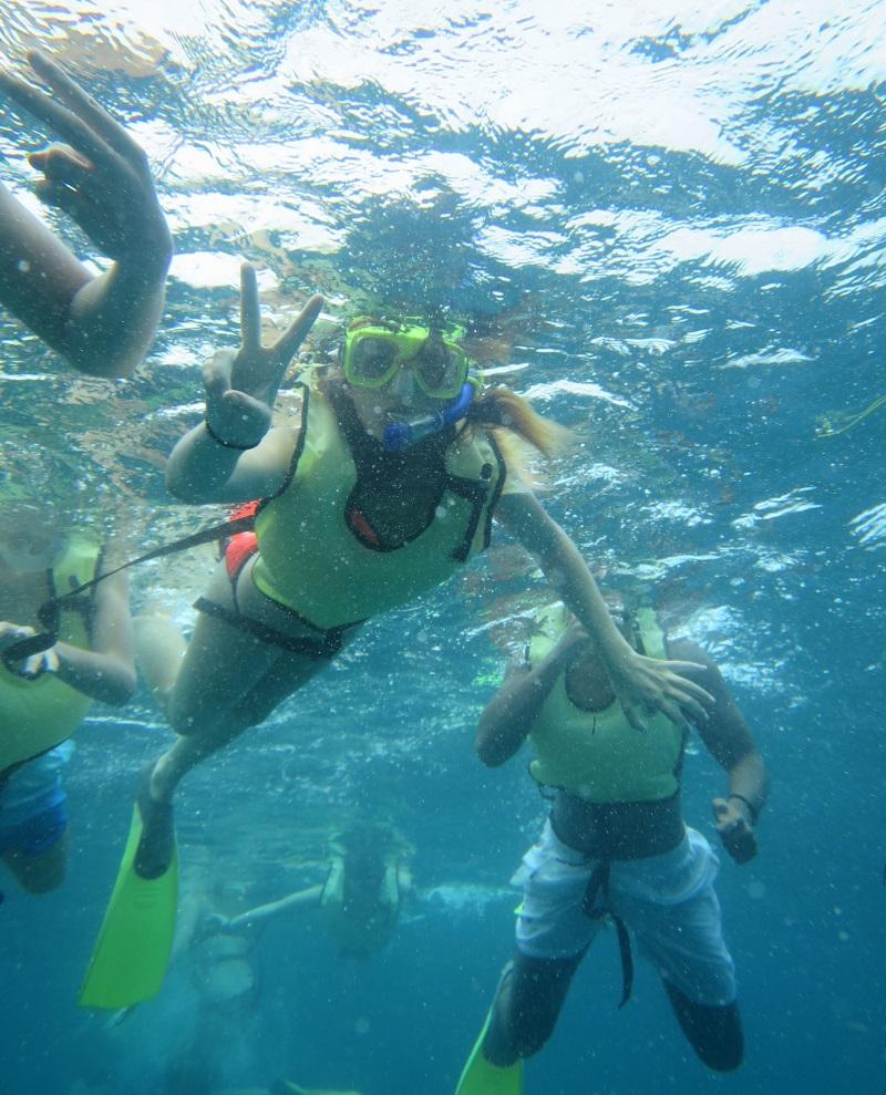 sejour sport snorkelling ete