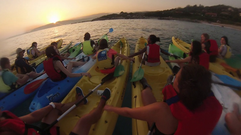 colonie corse telligo kayak