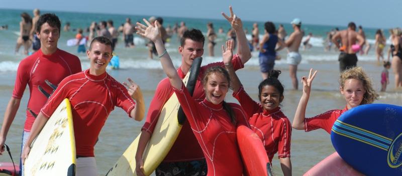 sejour sportif surf